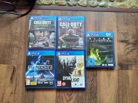 Продам диски с играми для PS4 (лицензия) №1