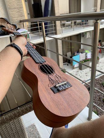 Укулеле harley benton kahuna c dreamcatcher ukulele guitar гітара