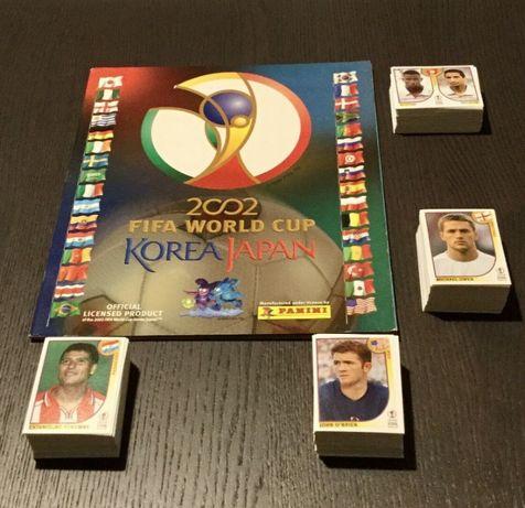 Mundial 2002 da Panini – Coleção completa por colar