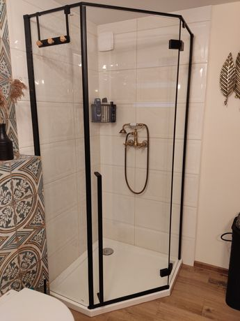 Kabina prysznicowa + brodzik 90x90 NOWE
