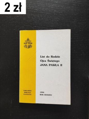 Jan Paweł II, List do rodzin