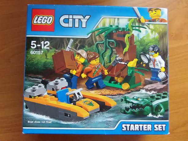 Klocki LEGO City Jungle Explorers Dżungla — 60157 zestaw startowy