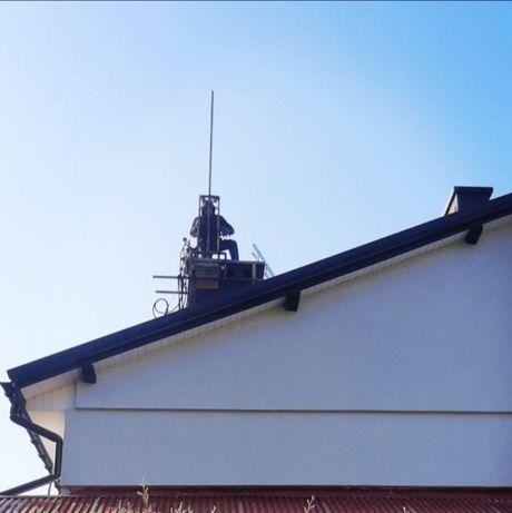 Frezowanie, remonty kominów. Wkłady stalowe i ceramiczne.