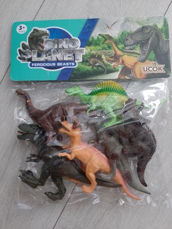 Figurki dinozaurów nowe