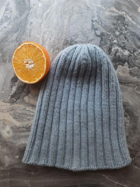 Шапка женская зимняя вязаная