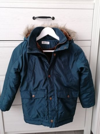 Kurtka zimowa H&M rozmiar 128 chłopięca