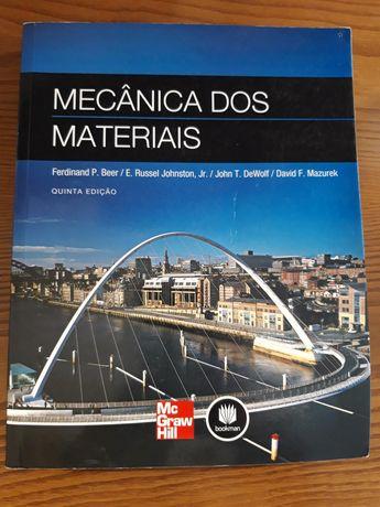 """Livro """"Mecânica dos Materiais"""""""