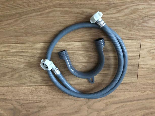 Wąż z filtrem do pralki dopływowy zasilający 130 cm + zawieszenie