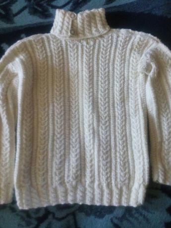 Продам мужской свитер ручная вязка