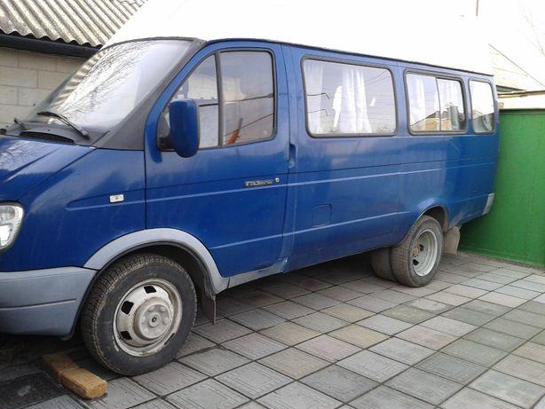 микроавтобус ГАЗ-2705 п12спг 2006г