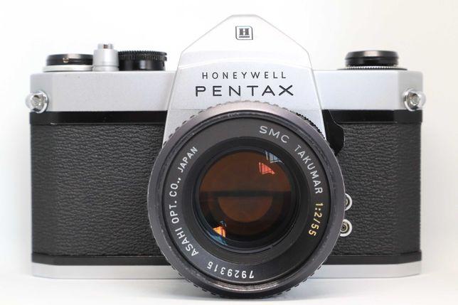 Pentax SP500 + SMC 55mm 2.0 (100% funcionais)