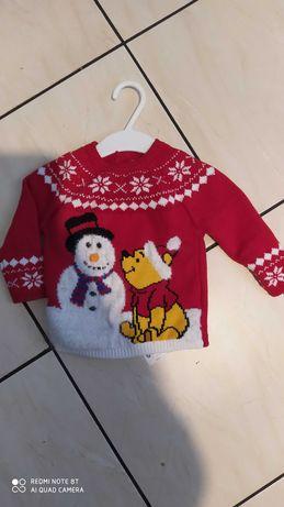 Sweterek świąteczny Boże Narodzenie rozm. 74