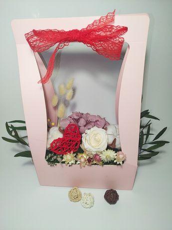 Розы стабилизированные. Подарок к 8 марта!