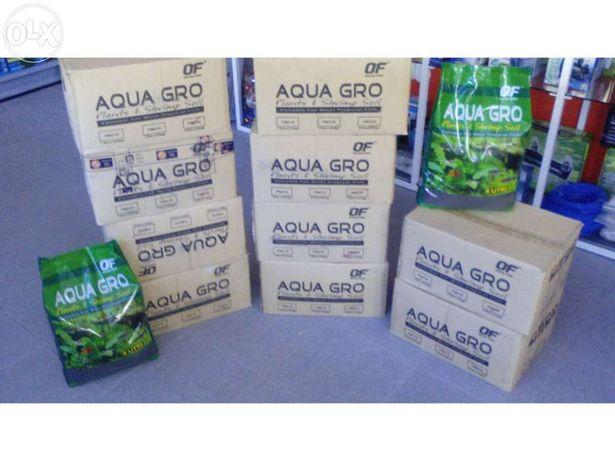 Substrato aqua gro para aquario plantado