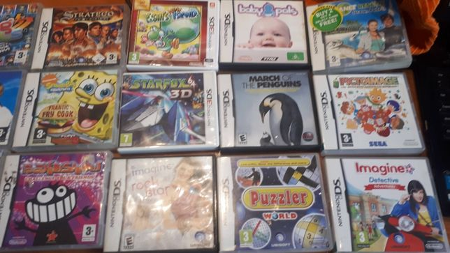 Gry na konsolę Nintendo DS