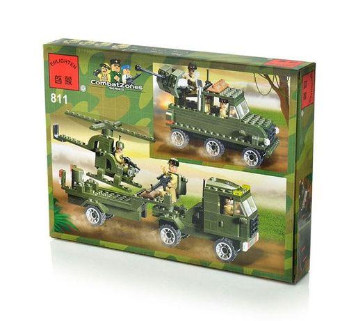 """Конструктор Enlighten Brick (Qman) серия Боевая зона """"Военный грузовик"""