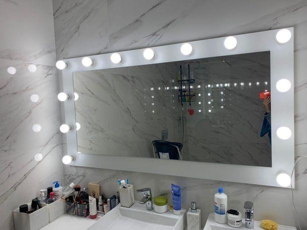 Espelhos de camarim led profissionais