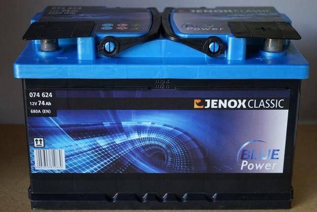 Jenox akumulator NOWY 74Ah 680A P+ 12V