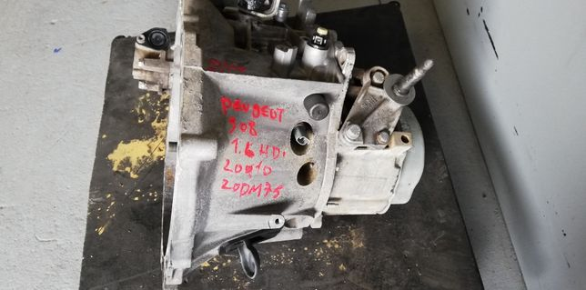 Caixa Velocidades Peugeot 308 1.6 HDI Ref: 20 DM 75