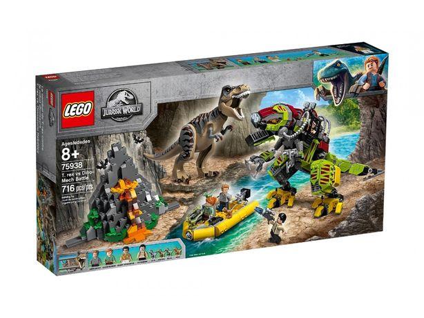 Klocki LEGO 75938 Tyranozaur kontra mechaniczny dinozaur