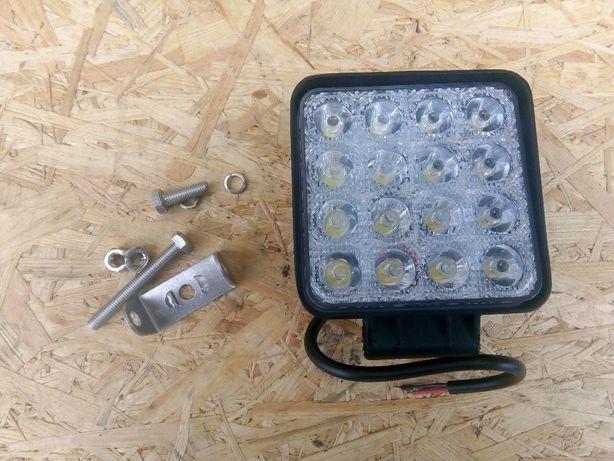 Lampa robocza led ledowa speracz halogen 16 diod 48W roboczy