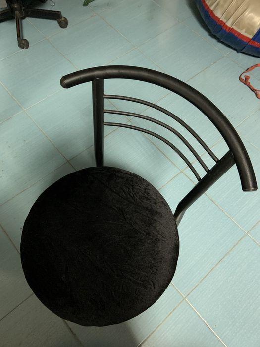 Стул черный Кропивницкий - изображение 1