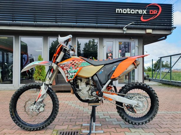 KTM EXC 250 EXC250F EXC250 F Six Days kat A2 Motorex DP Gniezno
