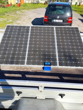 Panele fotowoltaiczne zestaw solarny 330W 12V