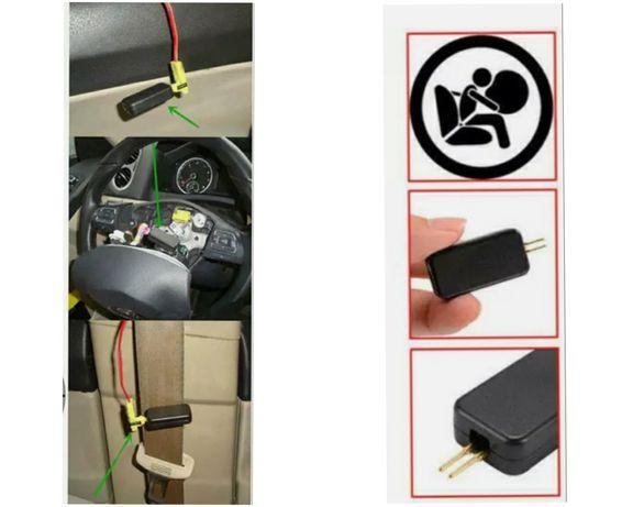 Emulador / anulador de luz de airbag para carro etc (novos)