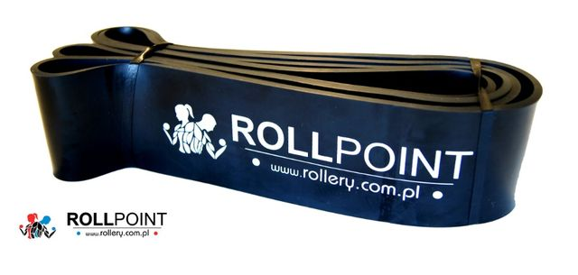 Gumy do ćwiczeń Gumy oporowe 64mm ROLLPOINT