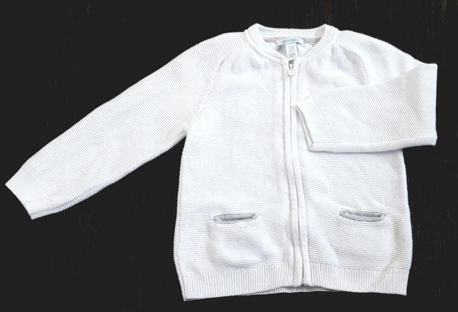 Sweterek/Bluza rozpinana rozm. 86/92 cm