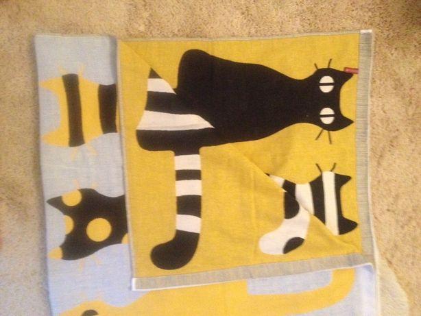 Новое льняное полотенце