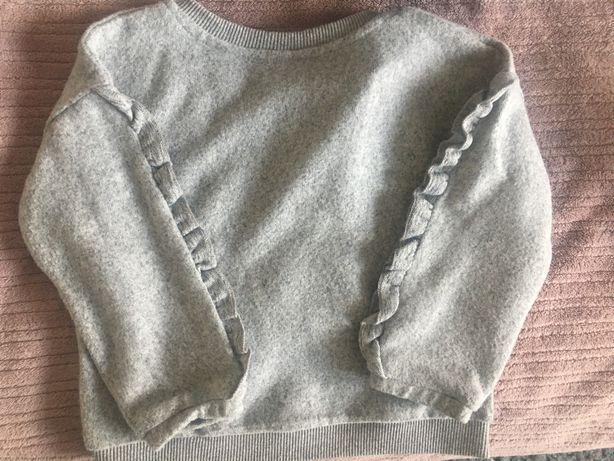 Sweterek  r. 92 szary Zara Kids