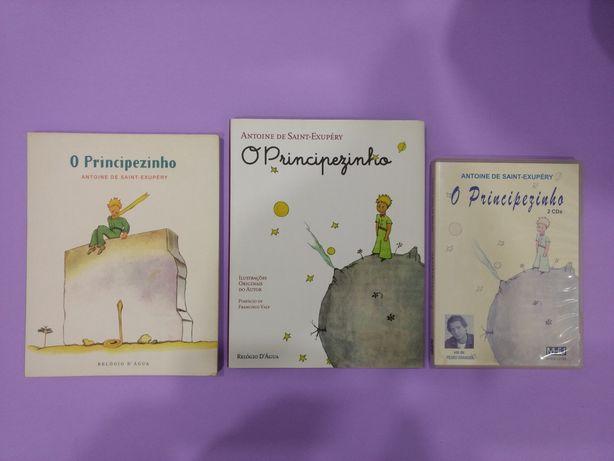 Especial: O Principezinho - Antoine de Saint-Exupéry (2 livros + CD)