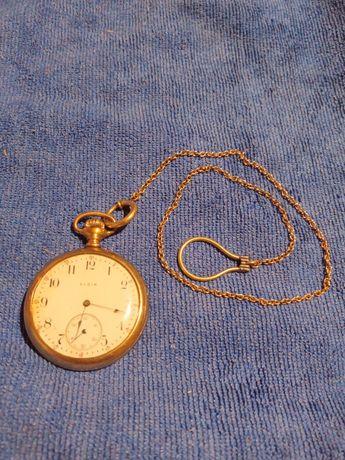 Zegarek ELGIN pozłacany