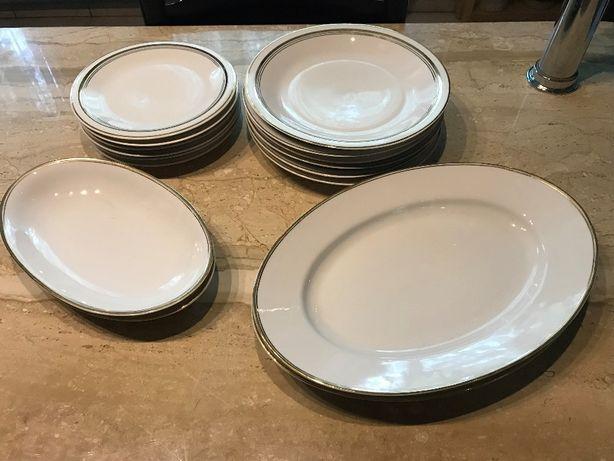 Zestaw obiadowy porcelana Chodzież i Karolina - RARYTAS