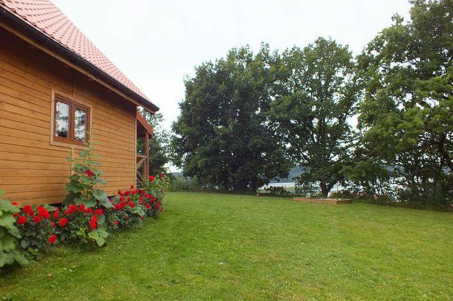 Dom domek nad jeziorem Mazury Zachodnie PLAŻA wrzesień