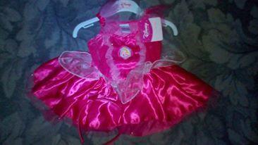 Платье Дисней принцесса на 6-12 месяцев