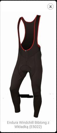 Spodnie kolarskie Endura Windchill Biblong z Wkładką (E5022)