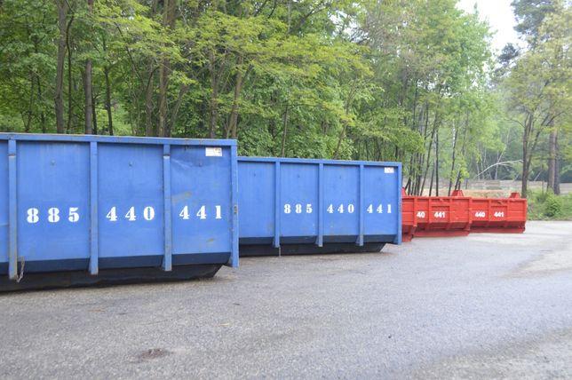 kontener kontenery na gruz odpady poremontowe