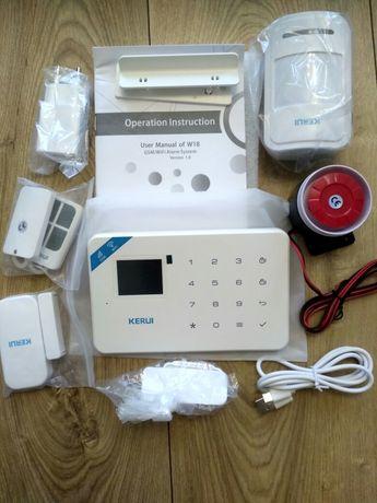 Сигнализация беспроводная Kerui W18 для дома квартиры дачи или гаража