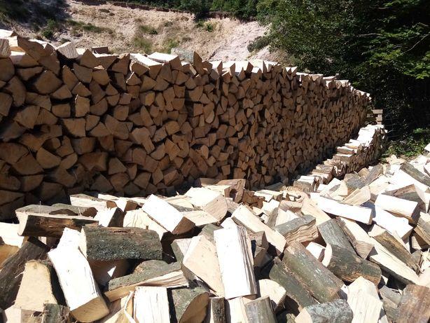 Drewno kominkowe opałowe bukowe