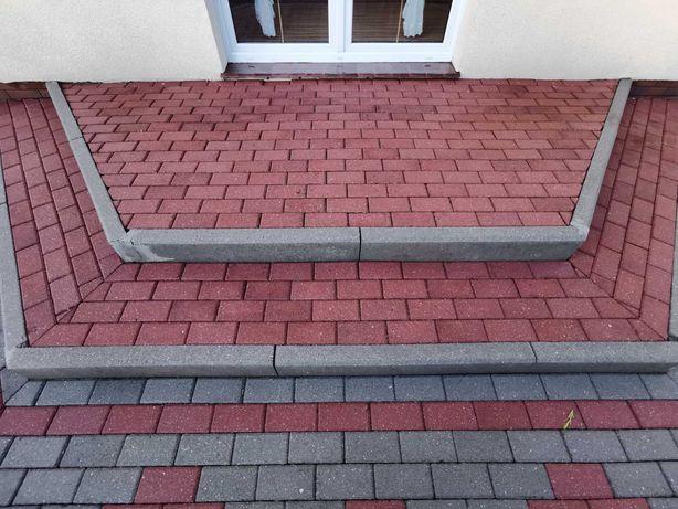 Mycie kostki brukowej elewacji budynków tarasy dachy Dokładnie umyjem