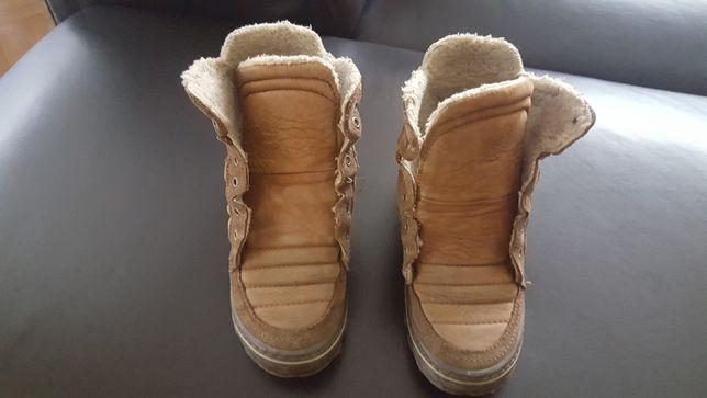 Buty Zara rozmiar 35 chłopięce ocieplane