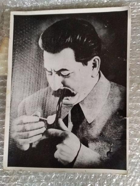 Сталин. Фото портрет старый в хорошем состоянии