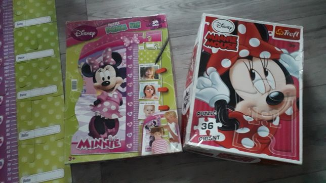 Zestaw puzzli Myszka Minnie