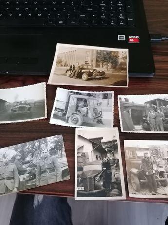 Stare zdjęcia samochody motoryzacja wojsko polskie żołnierz