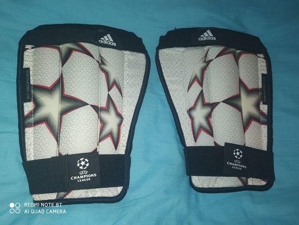 Напульсники,анатомические щитки Адидас,Adidas Лига чемпионов,Найк,Nike