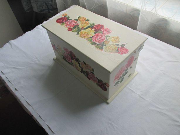Ящик декоративный для хранения. Шкатулка.  Коробочка.