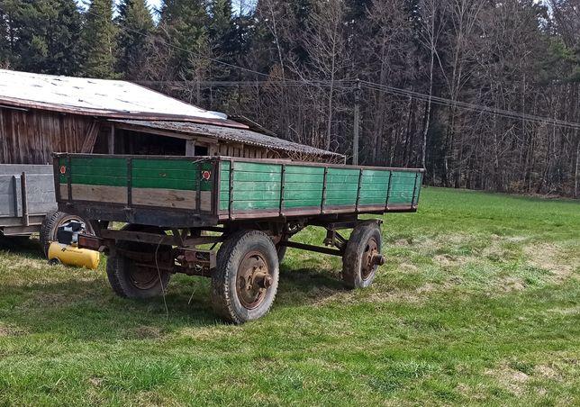 Przyczepa sztywna wóz